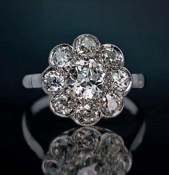 Beautiful Russian Antique Rings