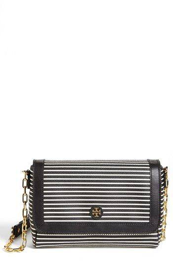Tory Burch 'Viva' Canvas & Leather Crossbody Bag available at #Nordstrom