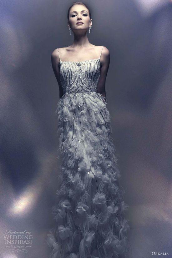 orkalia 2013 dubai bridal couture wedding dress