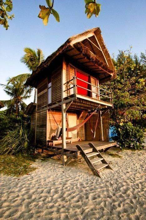 Beach escape house.