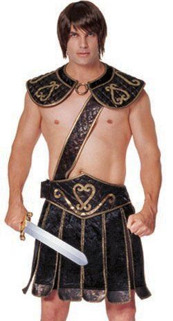 Franco Adult Roman Gladiator Outfit Mens Halloween « Clothing Impulse