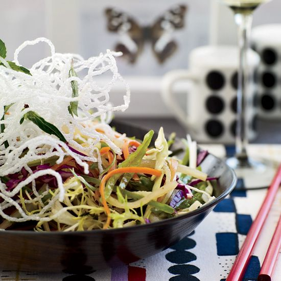 Chinese Coleslaw Recipe // More Great Chinese Recipes: www.foodandwine.c... #foodandwine