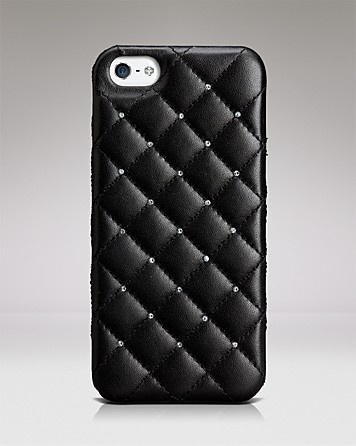 CaseMate iPhone 5 Case - Madison Leather and Crystal