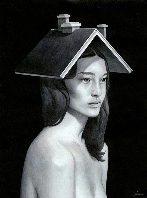 Paintings by artist Tran Nguyen