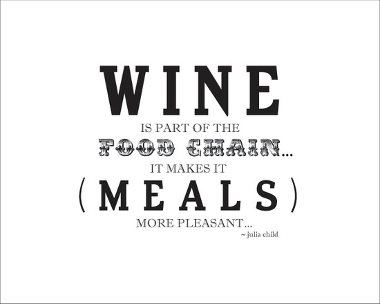 """""""Wine is part of the food chain..."""" Graphic Design Print Wine in by MayJewellDesigns"""