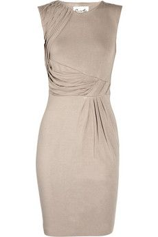 Fabriane stretch-jersey dress