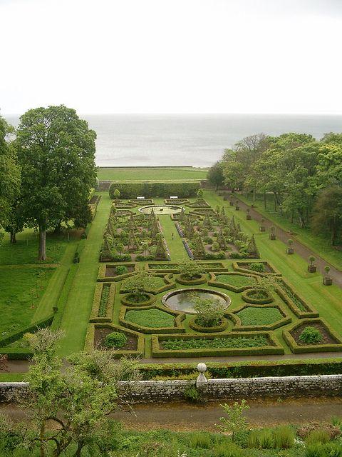 Dunrobin Castle Gardens, Scotland