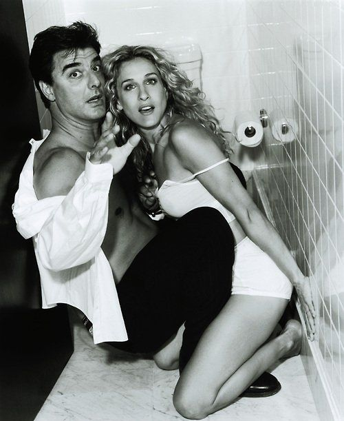 mr big + carrie.