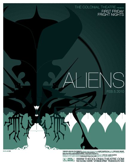 """Aliens"" by Tom Whalen (www.strongstuff.net)"