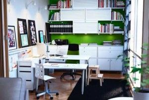 Modern IKEA Home Office Design Ideas Image 469 office design ideas ikea 4 300x201 office design ideas