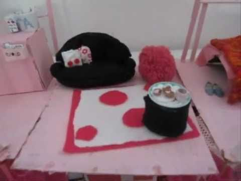 Tour of my Handmade Barbie House -