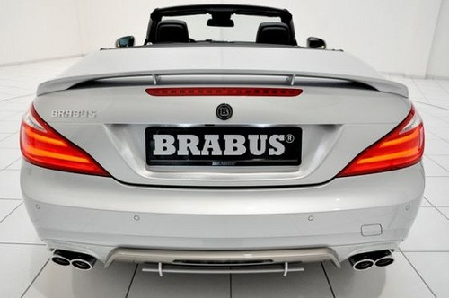 Brabus makes 6th Generation Mercedes Benz SL Roadster look sportier and much lucrative