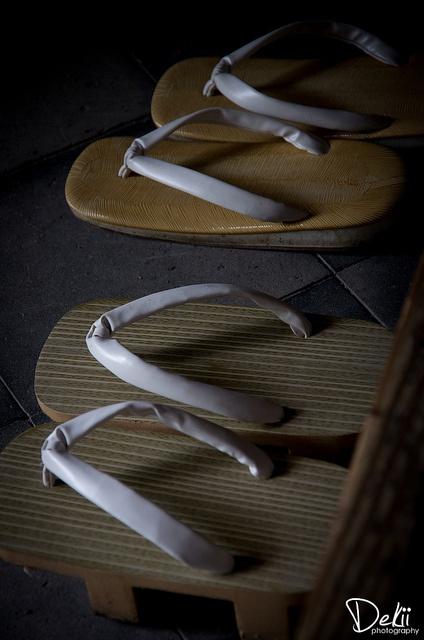 Japanese sandals, Zori and Geta