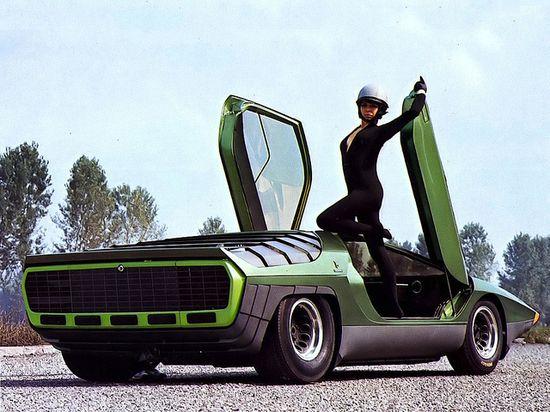 1968 Alfa Romeo Carabo Concept - Bertone    Design