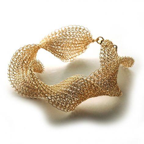 inspiration only: Crochet Wire bracelet.... boticca.com