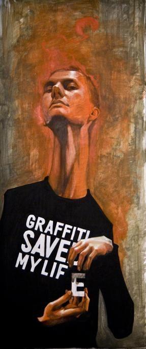 "Graffiti Saved My Life... ""Mate"" by Przemek Blejzyk on USEUM"
