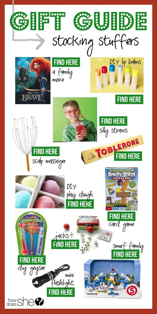 Gift Guide - Stocking Stuffers