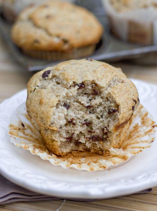Cinnamon Chocolate Chip Muffins