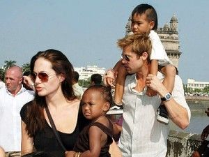 Celebrities who adopt #adoptions #celebrities #brangelina