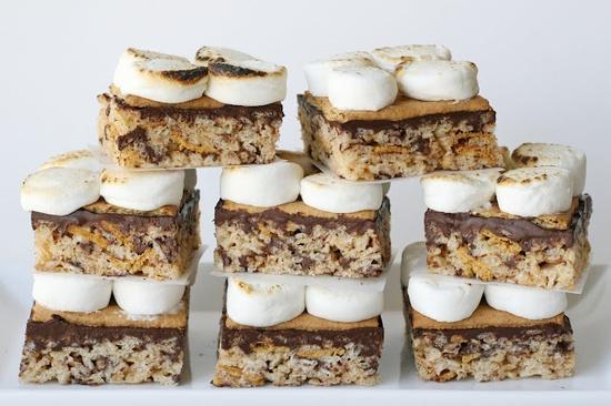 S'more Rice Krispies Treats