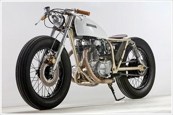 Micah Vinces 74 Honda CB360 - Pipeburn - Purveyors of Classic Motorcycles, Cafe Racers & Custom motorbikes