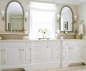 Love this look for my new bathroom.