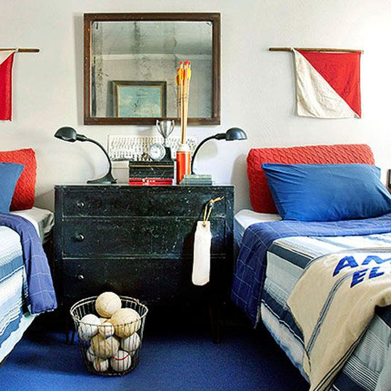 Get the Look: Seaworthy Style! Nautical home decor just feels like summer. #BHGSummer