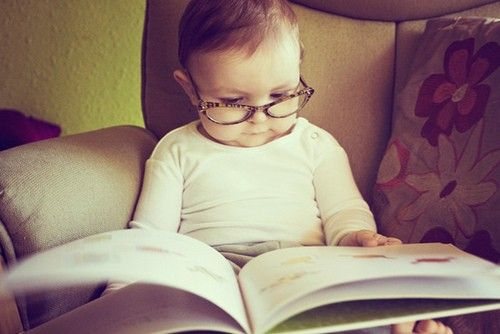 Baby book worm.