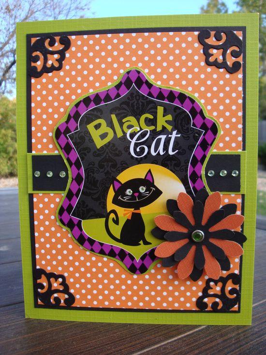 Black Cat - Scrapbook.com