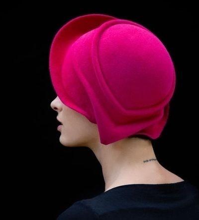 Fuchsia Hat