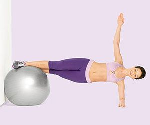 Abs-olutely Fabulous: Ab-Toning Stability Ball Workout