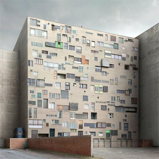 'Absurdist' architecture by Filip Dujardin - 2013 - ieva valentina