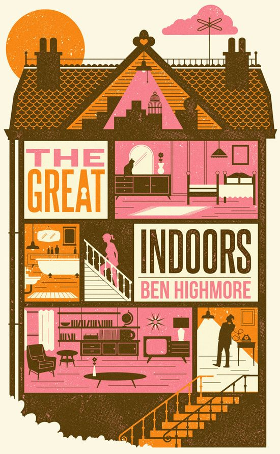 The great indoors book cover - Telegramme