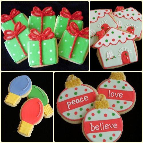 pretty christmas cookies ?