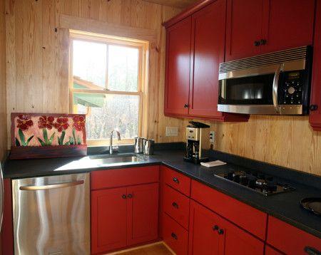 Simple Small Kitchen Interior Design Ideas - Kitchen