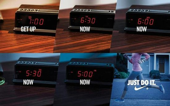 Just do it. No excuses