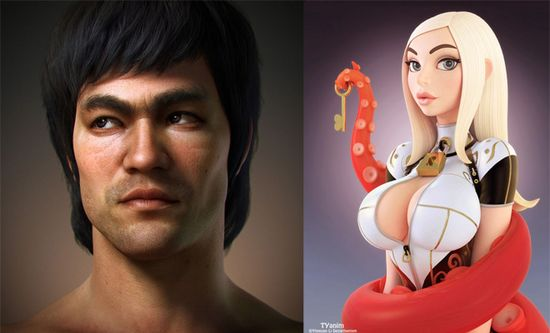 26 Beautiful 3D Character Designs and 3D Illustrations for your inspiration. Follow us www.pinterest.com...