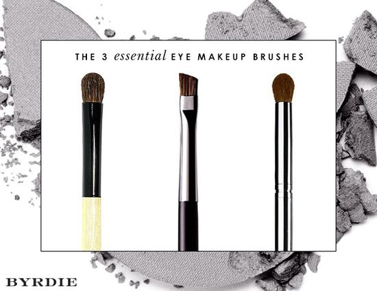 The Only 3 Eye Makeup Brushes You Really Need