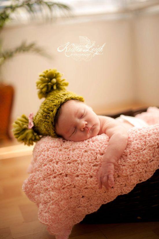 #hand crocheted baby blanket