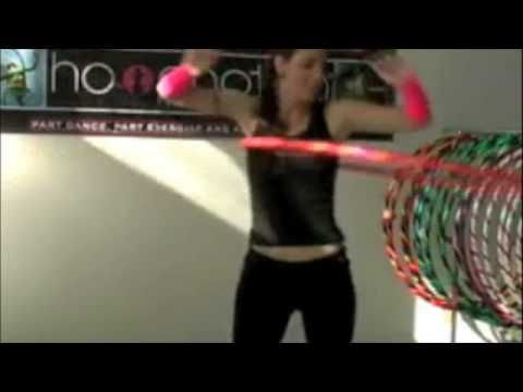 The Hoopnotica 10 Minute Workout - tutorial!  awesome workout!