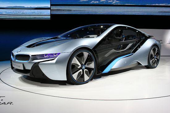 BMW i8 Concept, Super Car Plug-In Hybrid.