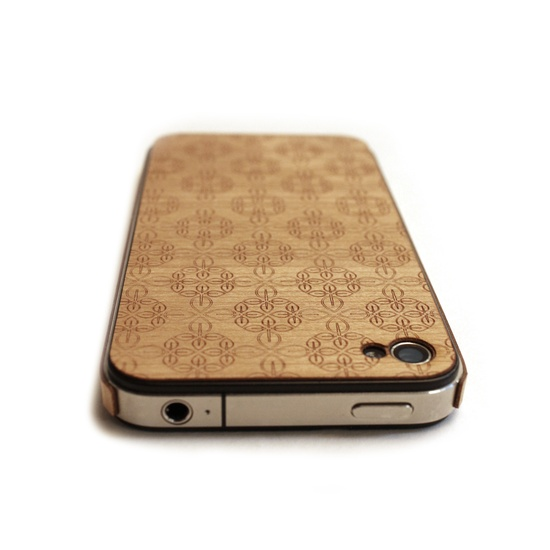 real wood iphone 4 cover