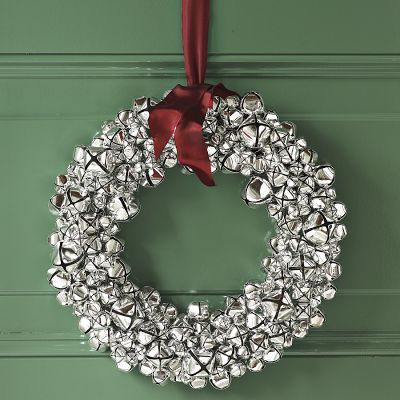 Silver Bell Wreath by Williams-Sonomana...