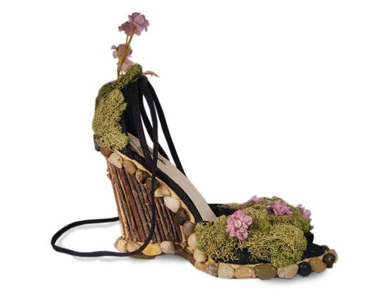 Moss shoes!