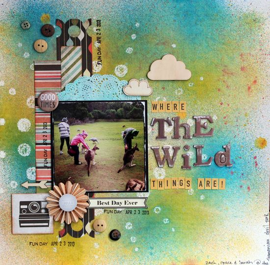 Where The Wild Things Are - Scrapbook.com