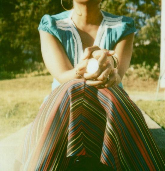 nice top and skirt