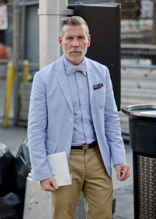 Nick Wooster, the male fashion icon everyone should have.