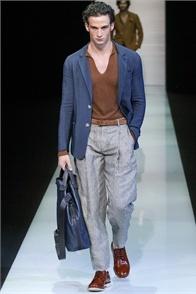 Giorgio Armani - Men Fashion Spring Summer 2013