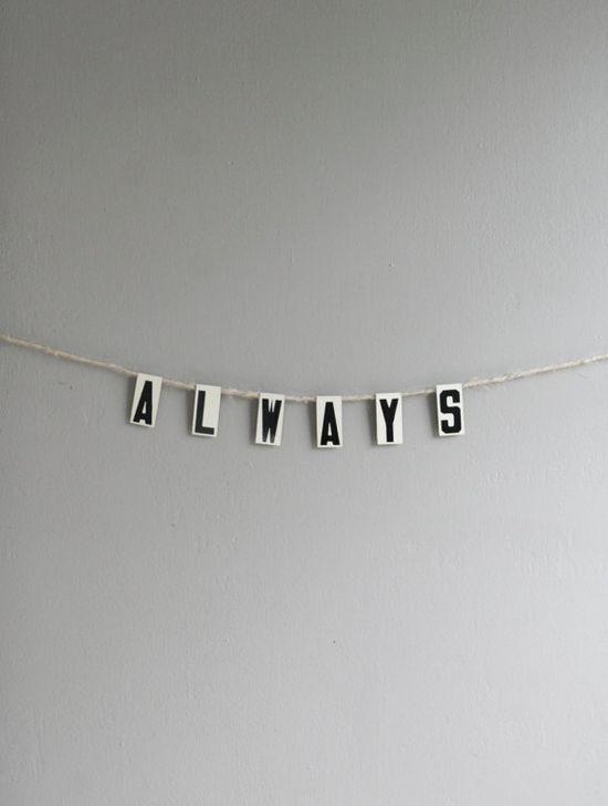 always banner