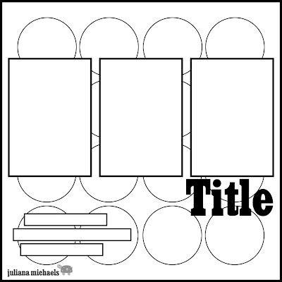 Scrapbook layout.